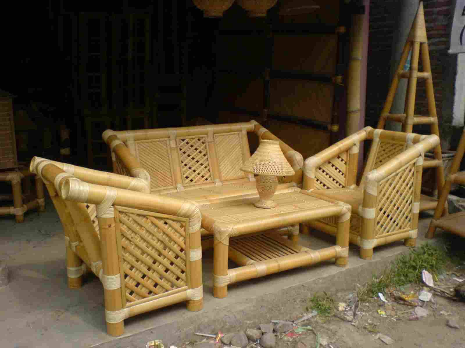 Mianzi Furniture/ Bamboo Furniture zinauzwa